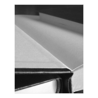 Second hand books with blank pages on a table
