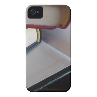 Second hand books with blank pages on a table Case-Mate iPhone 4 case