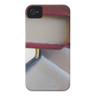 Second hand books with blank pages on a table iPhone 4 Case-Mate case