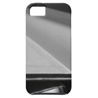 Second hand books with blank pages on a table iPhone 5 cases