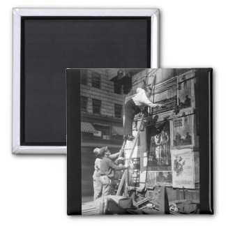 Second Liberty Loan, Oct. 1917_War image Square Magnet