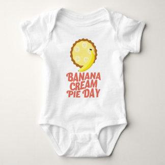 Second March - Banana Cream Pie Day Baby Bodysuit