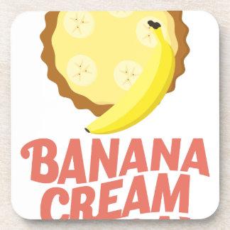 Second March - Banana Cream Pie Day Coaster