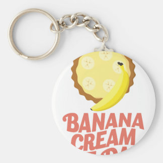 Second March - Banana Cream Pie Day Keychain