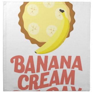 Second March - Banana Cream Pie Day Napkin