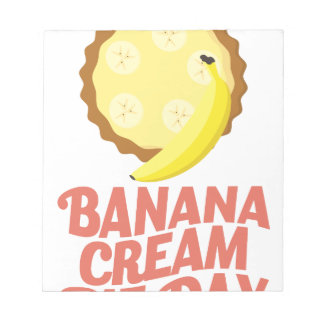 Second March - Banana Cream Pie Day Notepad