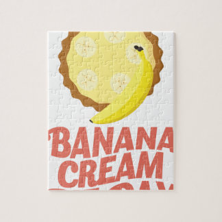 Second March - Banana Cream Pie Day Puzzle