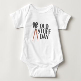 Second March - Old Stuff Day Baby Bodysuit
