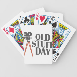 Second March - Old Stuff Day Bicycle Playing Cards