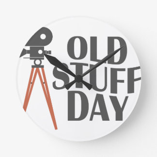 Second March - Old Stuff Day Round Clock