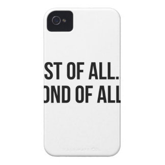 Second Of All iPhone 4 Case