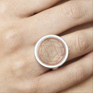 Second Pentacle of Mars Rings