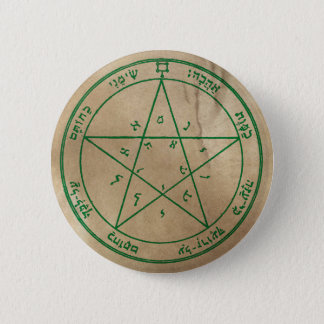 Second Pentacle of Venus 2 Inch Round Button