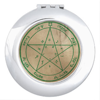 Second Pentacle of Venus Travel Mirrors