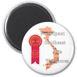 Second Place - Vietnam Wargames 2 Inch Round Magnet