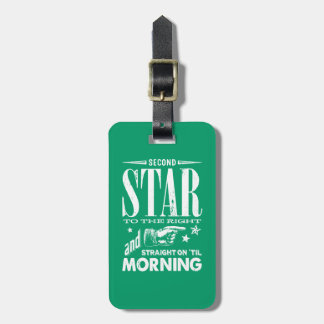 Second Star to the Right Luggage Tag