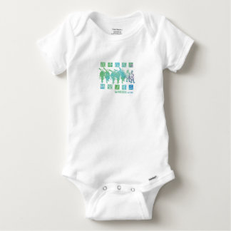 Secondary thousand residence red light district baby onesie