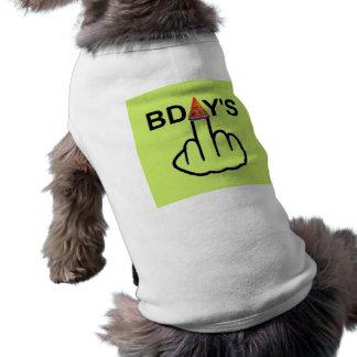 Secousse d'anniversaires d'habillement de chien vêtement pour animal domestique