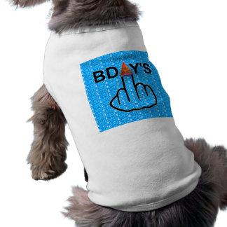 Secousse d'anniversaires d'habillement de chien manteau pour chien