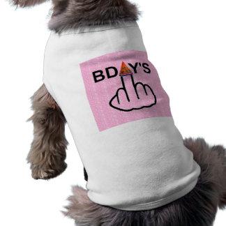 Secousse d'anniversaires d'habillement de chien vêtement pour chien