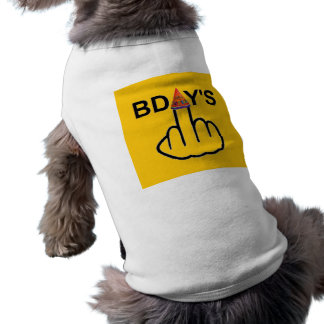 Secousse d'anniversaires d'habillement de chien tee-shirts pour animaux domestiques