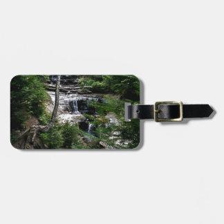 Secrect waterfall luggage tag