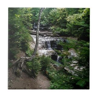 Secrect waterfall tile