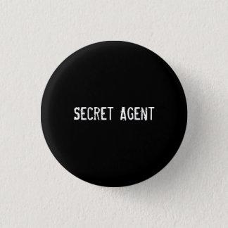 Secret Agent 1 Inch Round Button