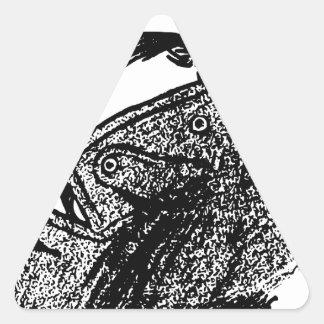 Secret Agent Triangle Sticker