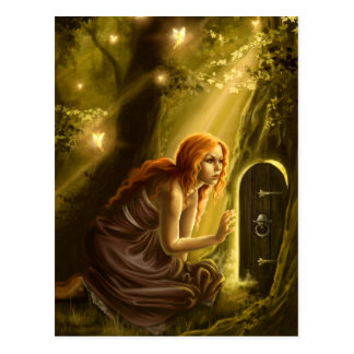 Secret Doorway Postcard