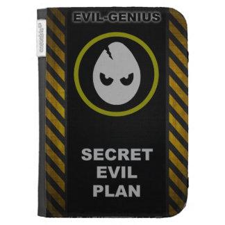 Secret Evil Plan Kindle Case