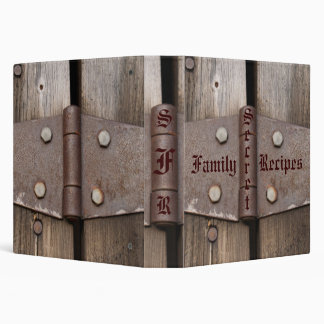Secret Family Recipes Binder