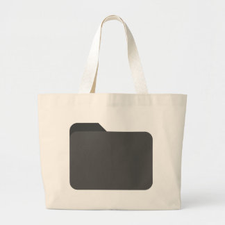 Secret File Large Tote Bag