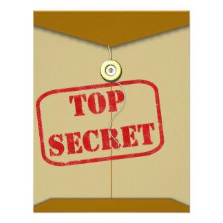 Secret Folder for Secret Cooks Personalized Invites