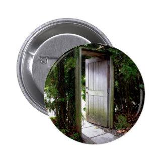 Secret Garden 1 2 Inch Round Button