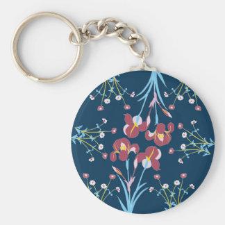 Secret Garden #2 Basic Round Button Keychain