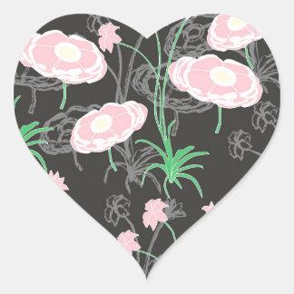 Secret Garden #4 Heart Sticker