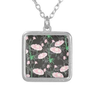 Secret Garden #4 Silver Plated Necklace