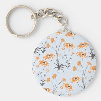 Secret Garden #5 Basic Round Button Keychain
