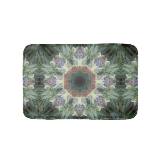 Secret Garden Mandala Bath Mat