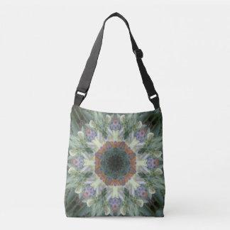 Secret Garden Mandala Crossbody/Tote Crossbody Bag