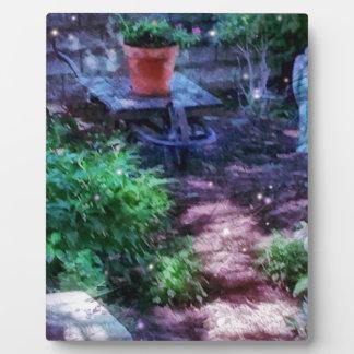 Secret Garden Photo Plaques