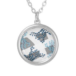 Secret Garden Silver Plated Necklace
