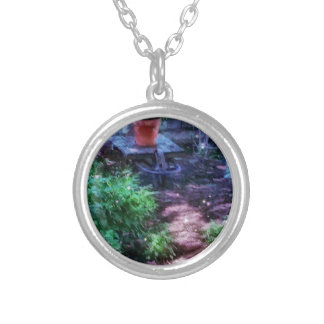 Secret Garden Silver Plated Necklace