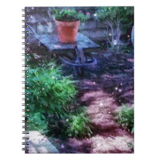Secret Garden Spiral Note Book
