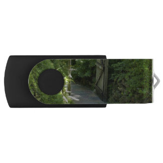Secret Garden Swivel USB 2.0 Flash Drive