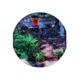 Secret Garden Wall Clocks