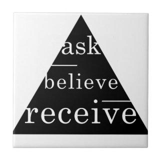 Secret law of attraction tile