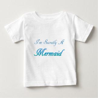 Secret Mermaid Baby T-Shirt