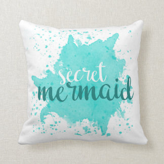 Secret Mermaid Pillow